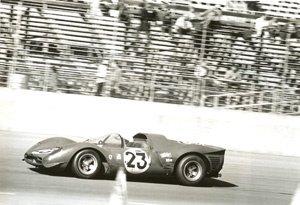 61: Albert Bochroch Untitled (Ferrari P3 at Daytona)