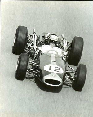 78: Goddard #12 Jack Brabham in the Repco, French GP