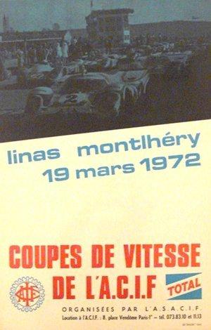 116: Linas Montlhery 1000km de paris,Porsche 917  Poste