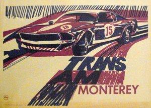 119: Trans Am Monterey  1969 Mustang  Camaro  Poster