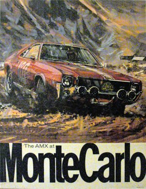 120: The AMX Javelin at Monte Carlo Rally, 1967