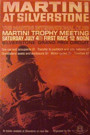 121: 1970 Martini Aston Martin, Silverstone