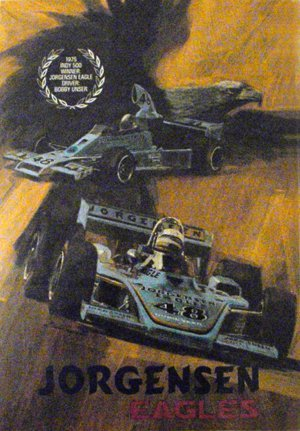 "122: Jorgensen Eagles"" Indy 500  Dan Gurney"