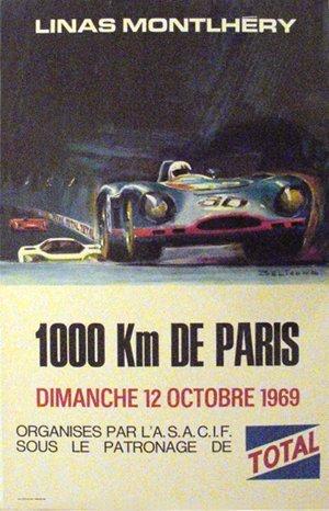 123: Linas Montlhery 1000 KM de Paris Porsche, Matra