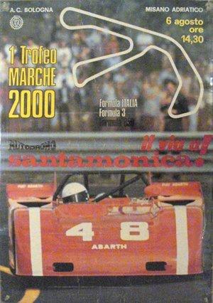 124: 1 Trofeo Marche 2000 Autodromo Abarth Poster