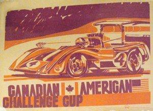 130: Can Am Challenge Cup Laguna Seca Mclaren, 1969