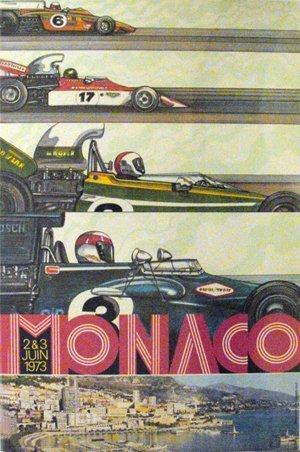 131: Monaco Formula One Grand Prix Tyrell, Lotus, race