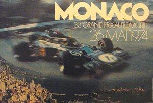 132: Monaco Formula One Grand Prix, Lotus  Poster