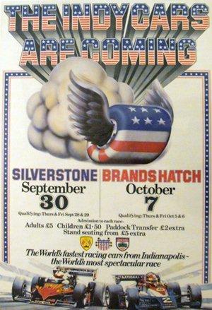 133: Indy Formula One Silverstone Brands Hatch BRSCC