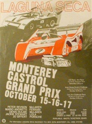 137: Monterey Castrol Can-Am Laguna Seca GP McLaren