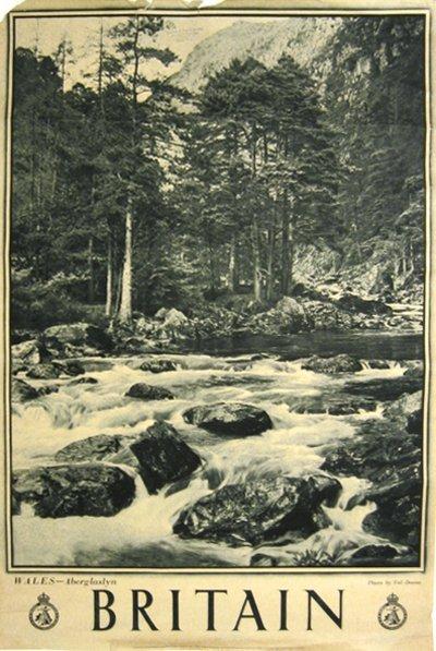 187: Britian, Wales Aberglaslyn  Poster