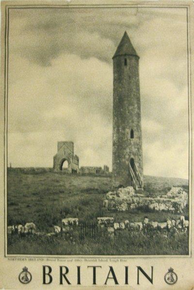 188: Britian, Northern Ireland Tower, Abbey, Devenish