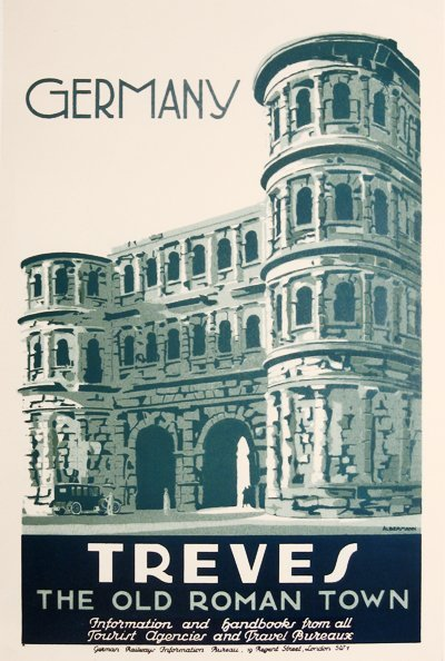 191: Germany Treves, The Old Roman Town, Railways