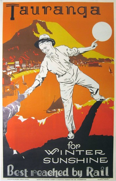 193: Tauranga, New Zealnd Railway
