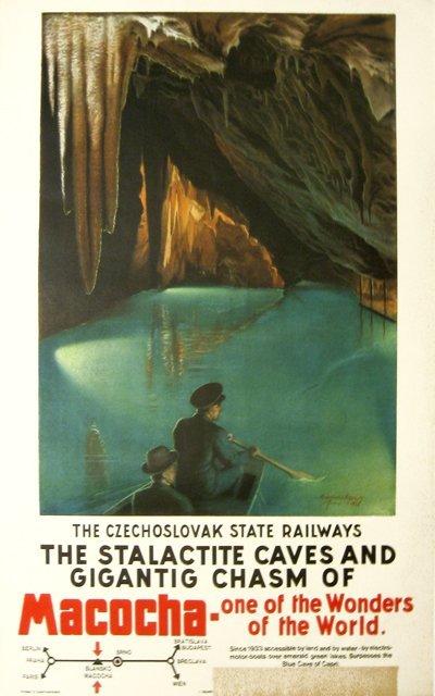 194: Macocha Caves Czechoslovak Railways