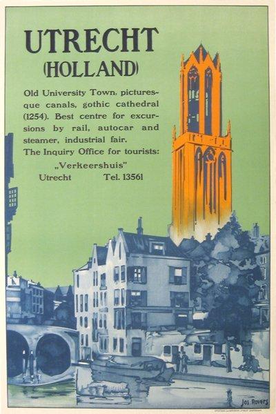 200: Utrecht (Holland) Jos. Rovers, Poster