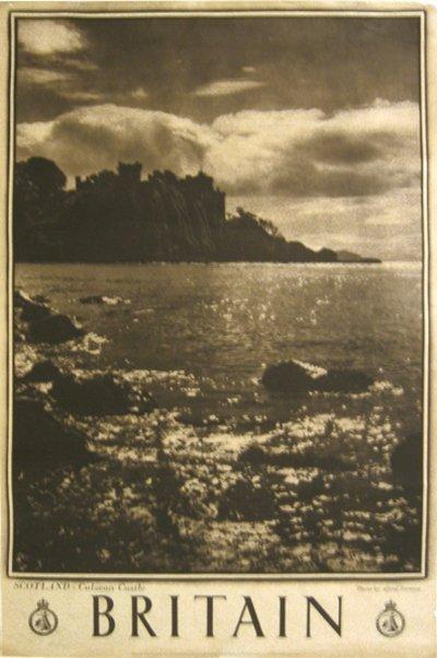 201: Britian, Scotland  Tower, Culzean Castle Poster