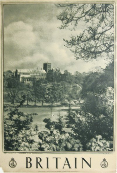 202: Britian St. Albans Cathedral from Verulamium,
