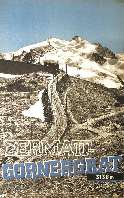203: Zermatt-Gornergrat-Luzern Switzerland, Poster