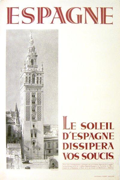 206: Espagne La Soliel D'Espagne Dissipera vos Soucis