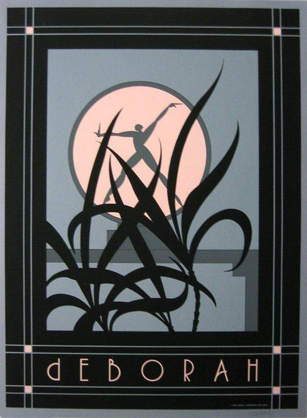 238: Art Deco Poster by Deboarah