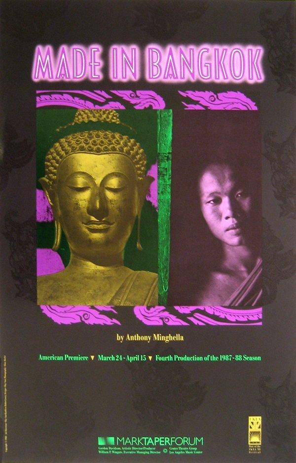 246: Bangkok, Thailand Mark Taper Forum Poster