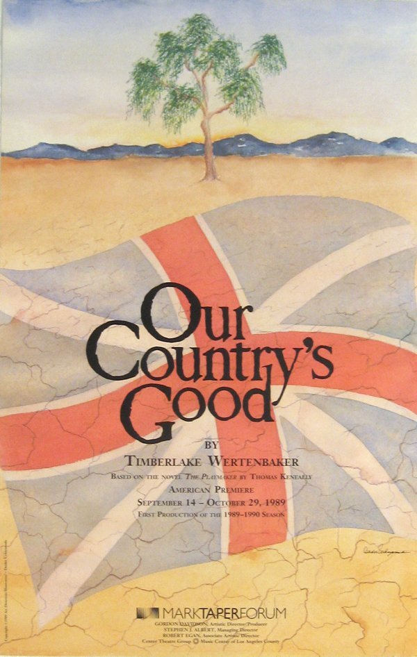 248: Our Countrys Good, Mark Taper Forum Poster