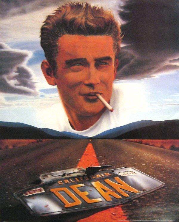 256: James Dean California Poster