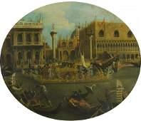 dipinto anticofesta a Venezia