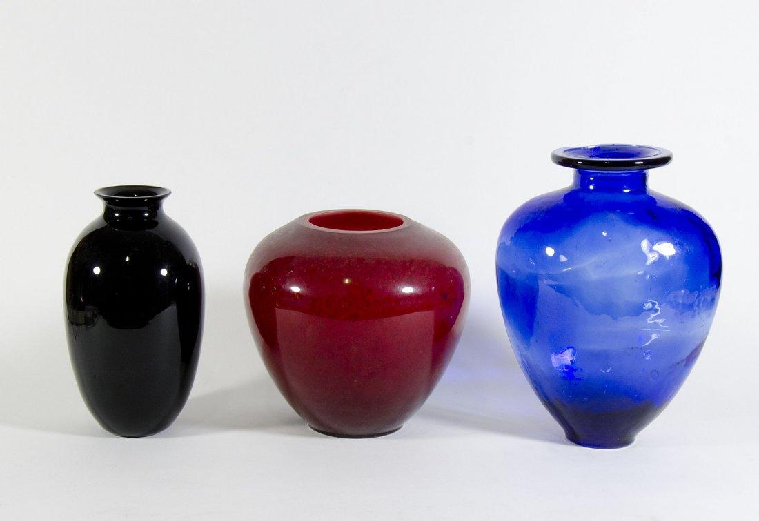 3 vasi vetro