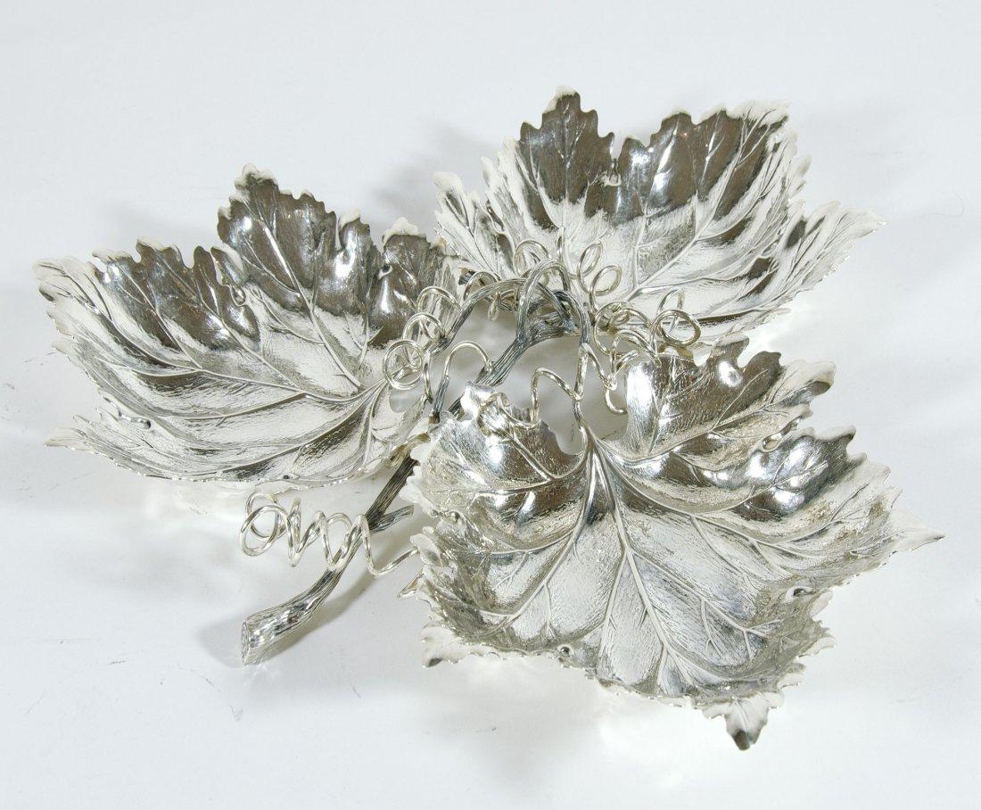 Buccellati-centrotavola in argento