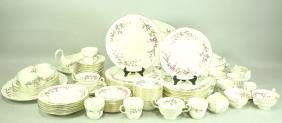 "116-PIECE WEDGWOOD ""DEVON SPRAYS"" BONE CHINA SET"