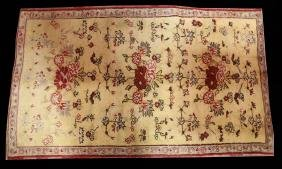 CIRCA 1920's HAND KNOTTED TURKISH KONYA RUG
