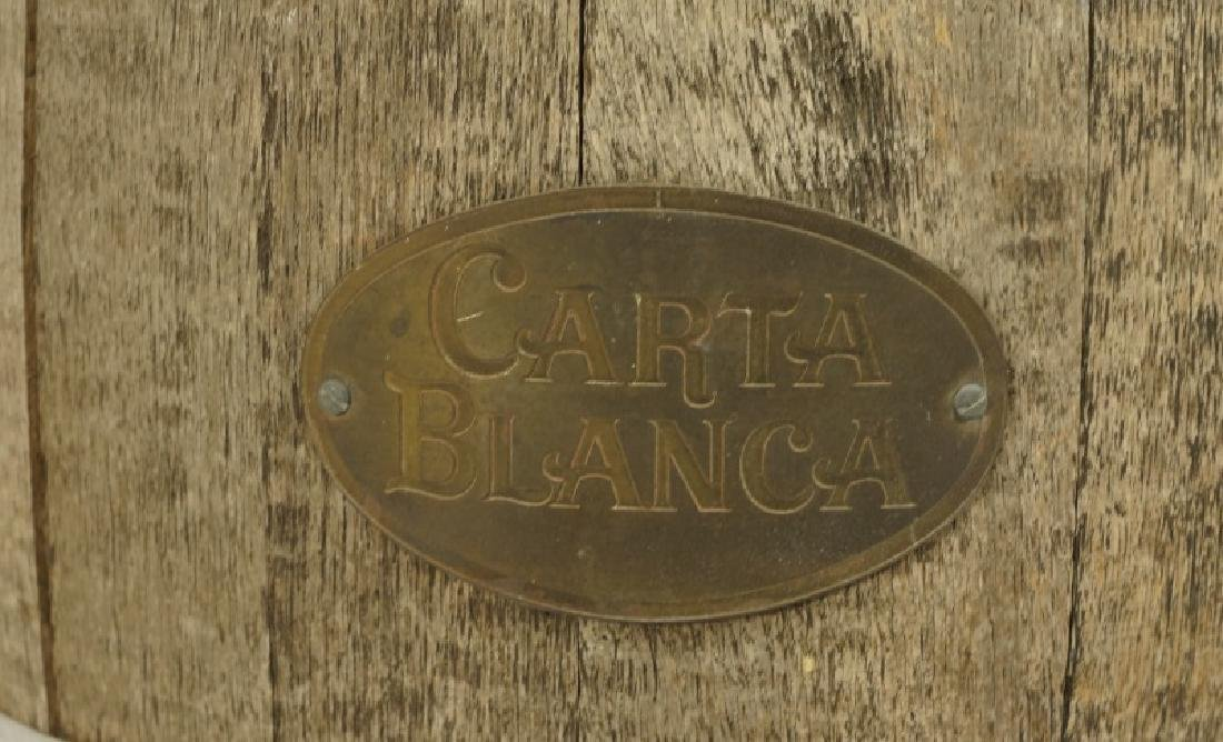 CARTHA BLANCA RUSTIC BARREL