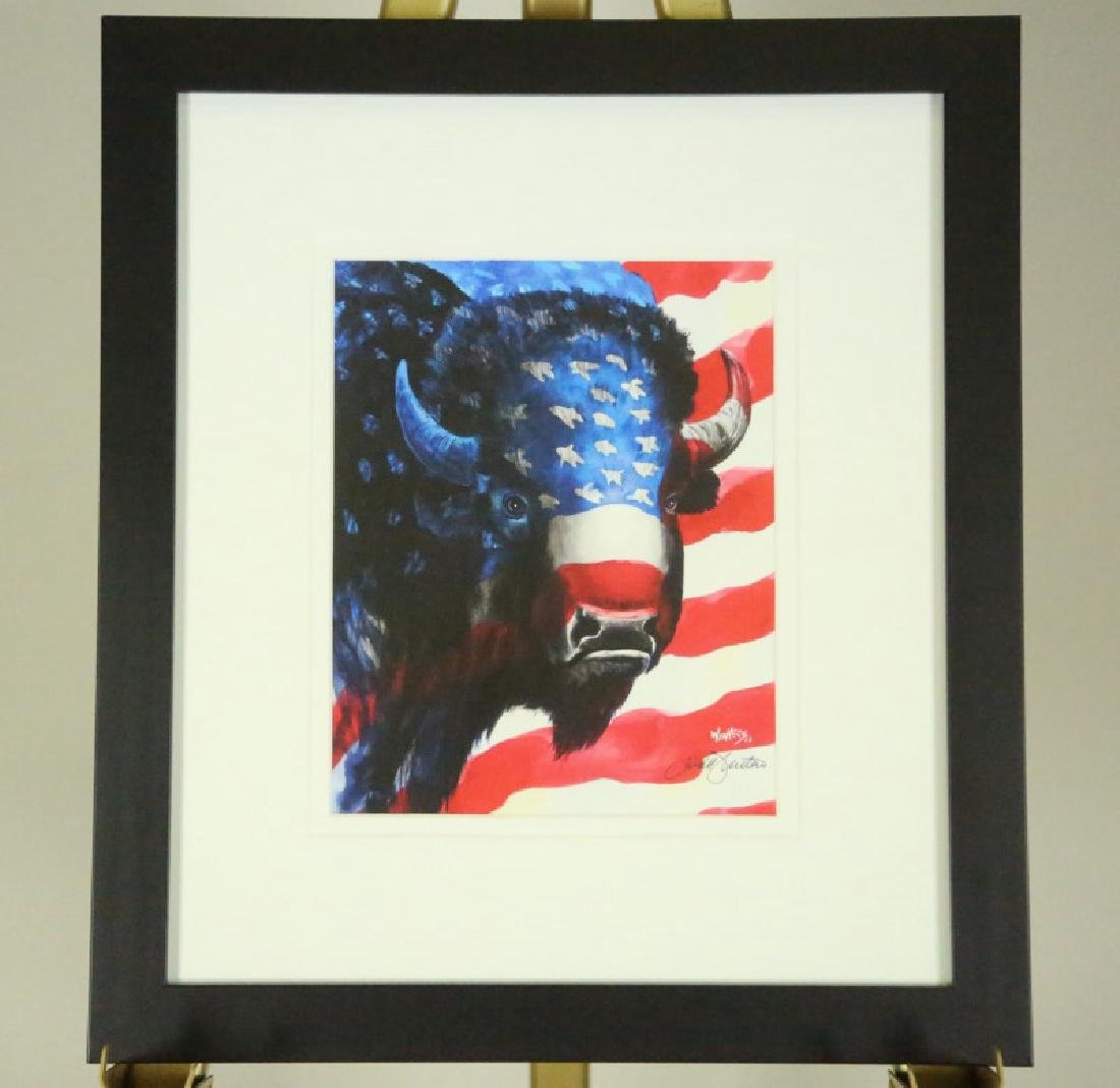 "TODD ABOTT WINTERS ""BORN IN THE USA"" GICLEE PRINT"