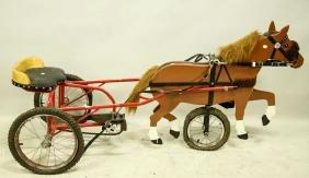 HORSE PEDAL CAR