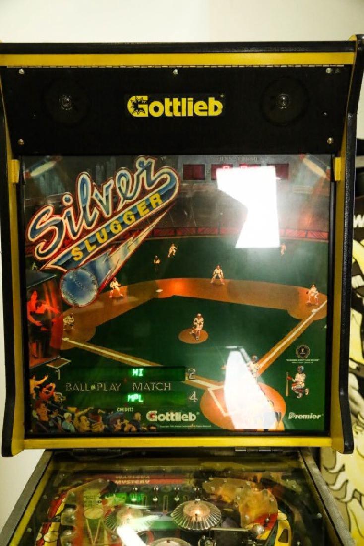 "GOTTLIEB ""SILVER SLUGGER"" PINBALL TABLE - 2"