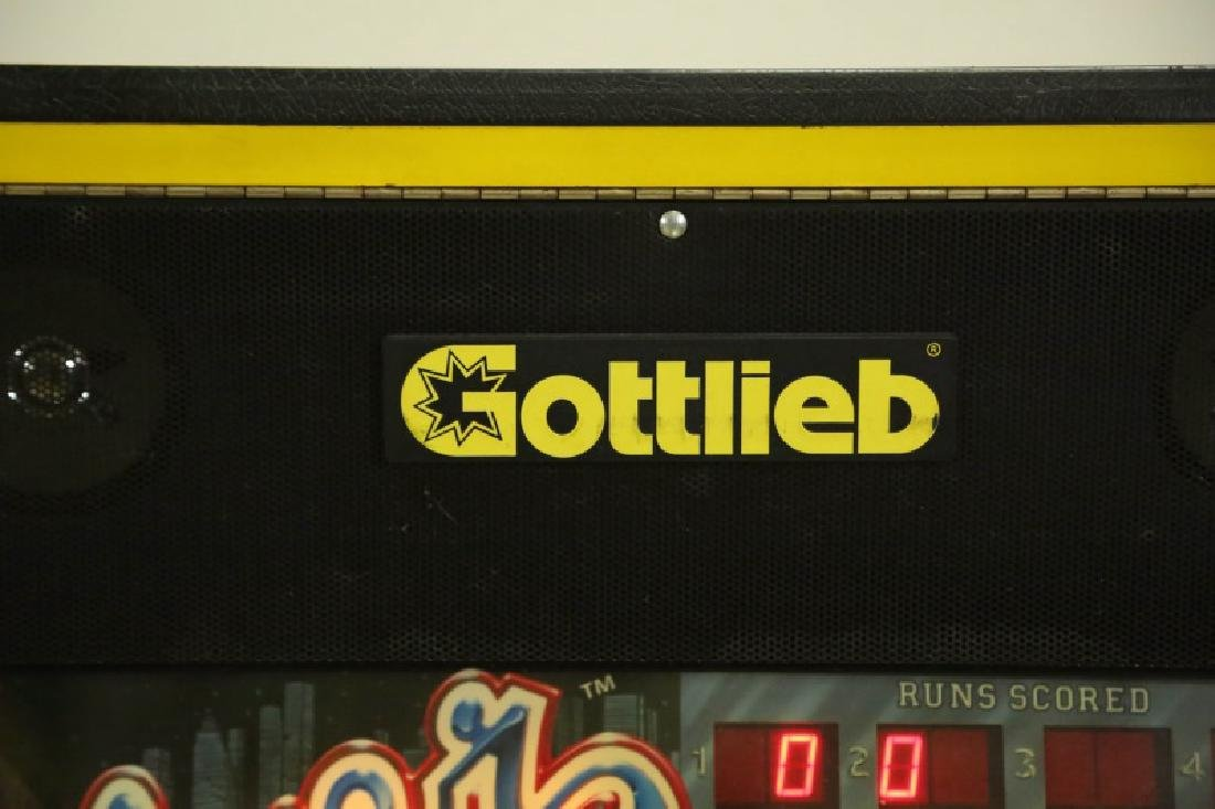 "GOTTLIEB ""SILVER SLUGGER"" PINBALL TABLE - 5"