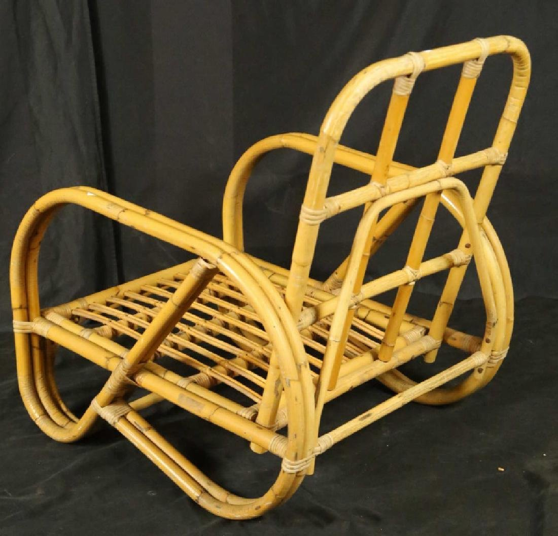 PAIR OF CANE CHAIRS - 2