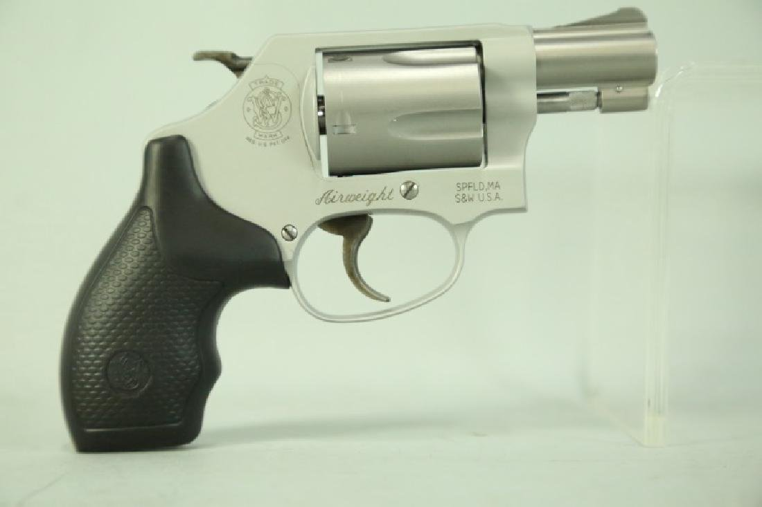 SMITH & WESSON M637 .38 S&W REVOVLER PISTOL