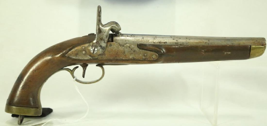 FRENCH MILITARY PERCUSSION .70 CALIBER PISTOL