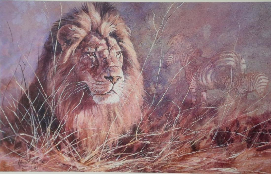 "KOBUS MOLLER ""THE KING"" SIGNED & NUMBERED PRINT"