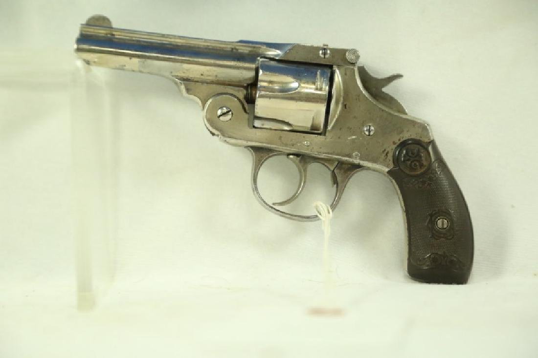 IVER JOHNSON TOP BREAK .38 S&W CALIBER REVOLVER