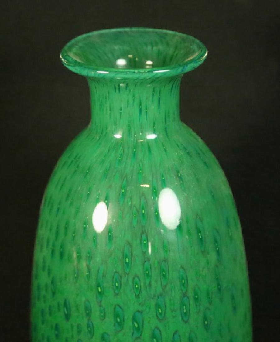 1940's ART GLASS VASE - 2