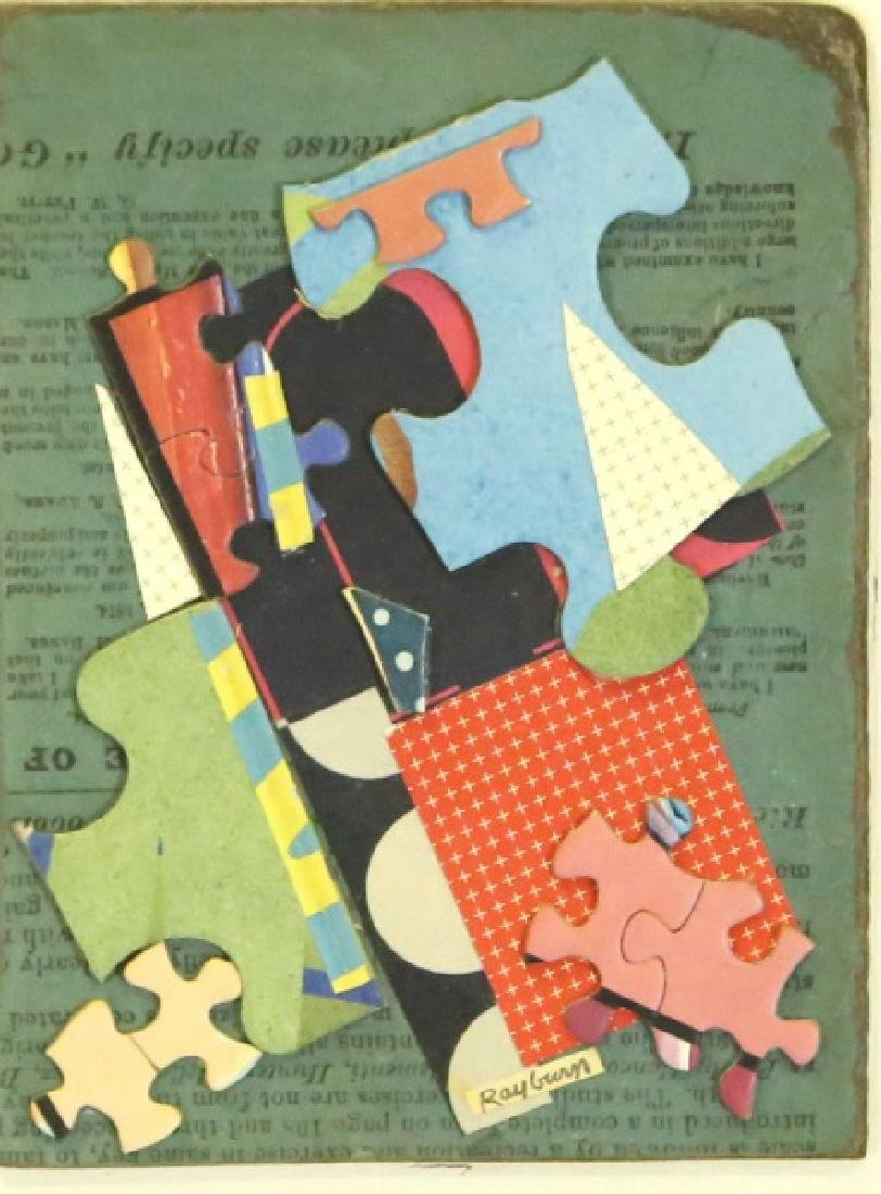 """HENRY RAYBURN """"SOMEWHAT PUZZLING"""" COLLAGE"""