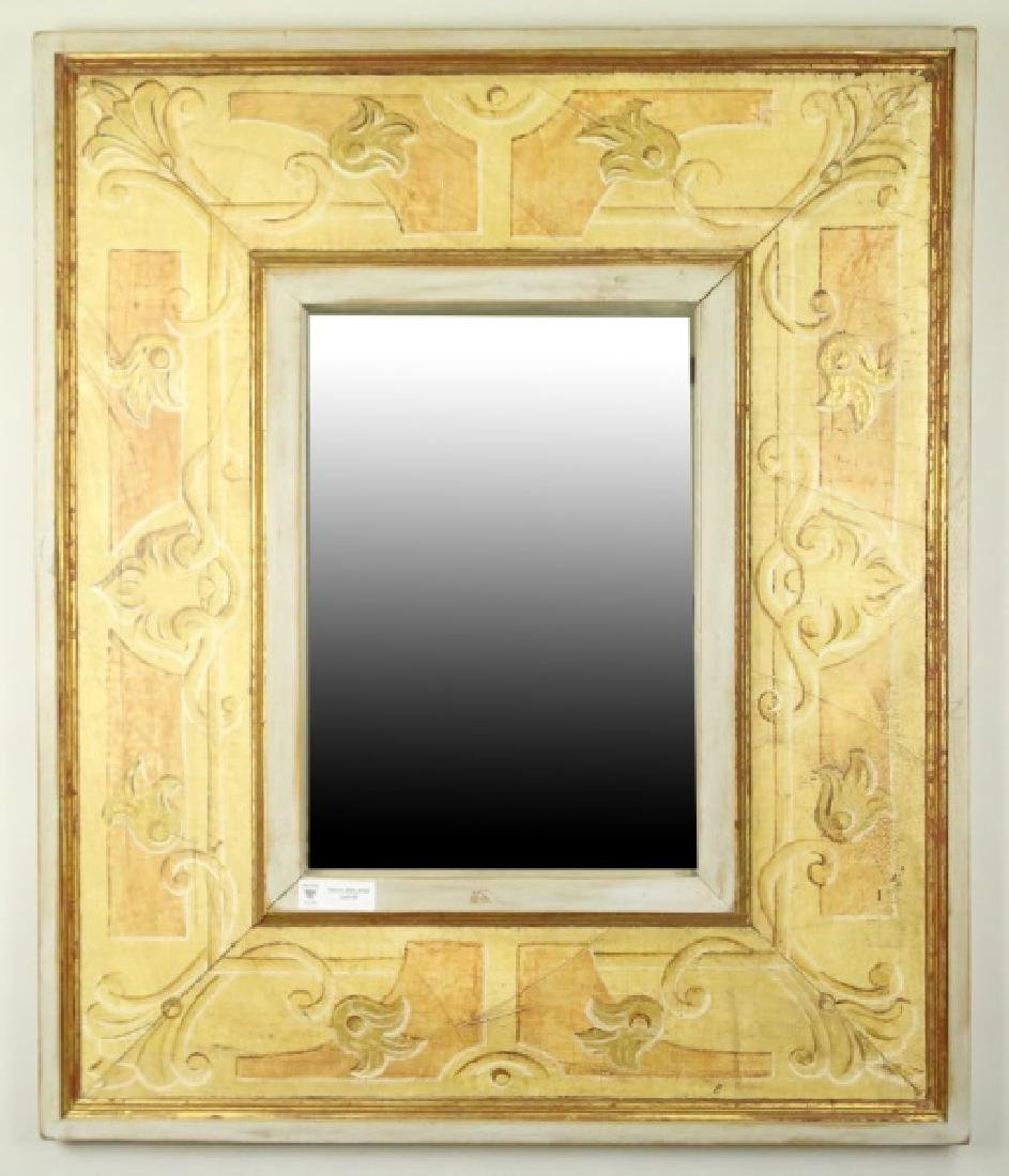 FAUX PAINTED MIRROR