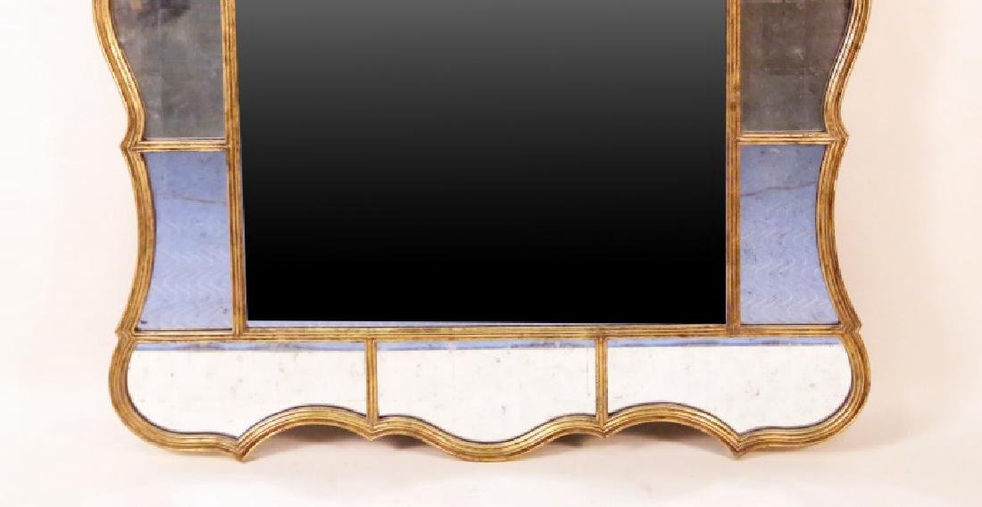 THIRTEEN UPPER & LOWER SURROUNDING BEVELED MIRROR - 3