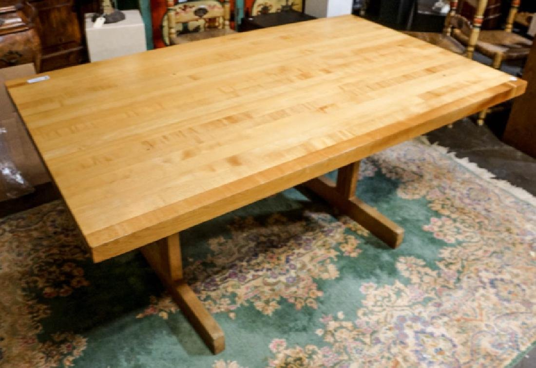 BUTCHERS BLOCK TABLE