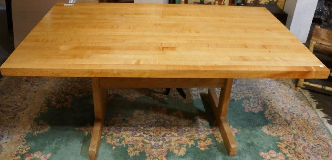 BUTCHERS BLOCK TABLE - 2