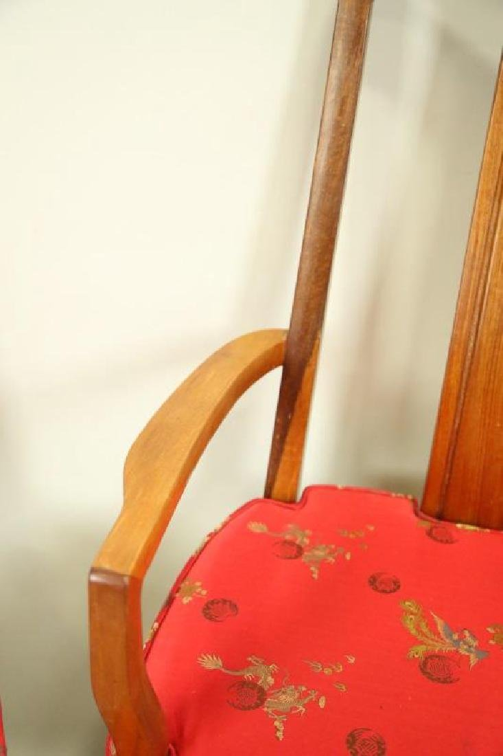 SET OF EIGHT CHINESE ROSEWOOD DINING CHAIRS - 4